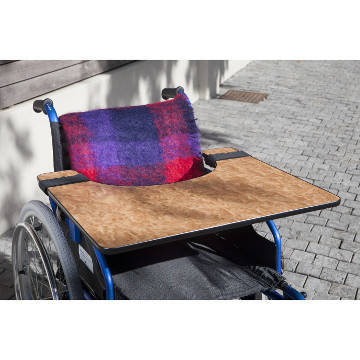 Wooden Wheelchair Table