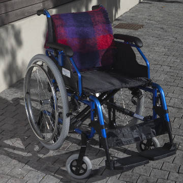 Ultra Delux Wheelchair