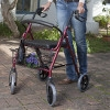 Large Wheel Rollator with Loop Brakes