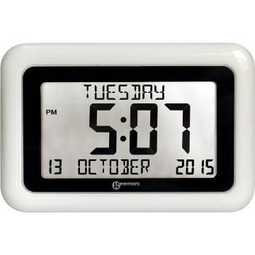 Geemarc VISO10 Large Display Dementia Clock
