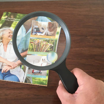 Magnifying Glass, 11 cm lens with 2X Magnification