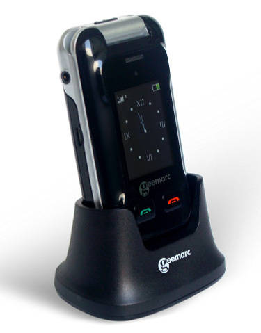 Clamshell Big Button Amplified Cell Phone for the Elderly