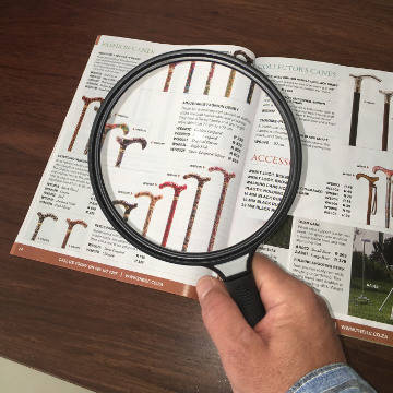 Magnifying Glass, 13 cm with 2x Magnification