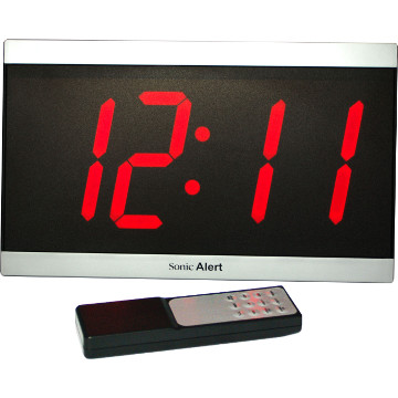 Digital Wall Clock with Extra Large LED Display