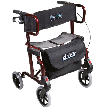 Diamond Deluxe Dual Rollator and Transport Chair