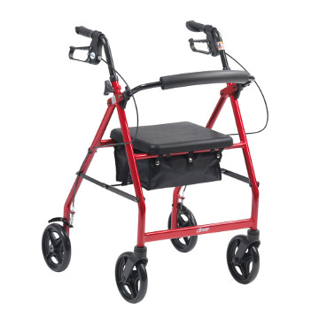 4 Wheel Rollator,  Drive Medical R6