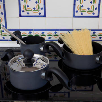 Set of 3 Ergonomic Pans