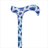 Fashion Derby Adjustable Walking Stick, Cornflowers