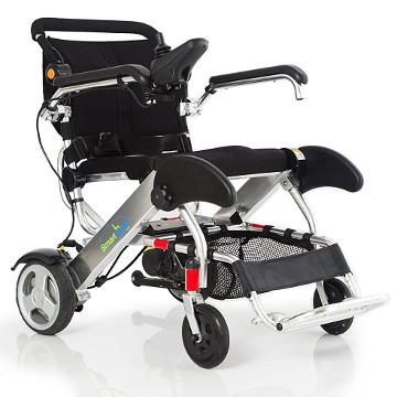 Electric Wheelchair | Lightweight Foldable Slimline Edition