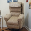 Wall Hugger Electric Recliner Chair | Ecclesfield Oat Colour