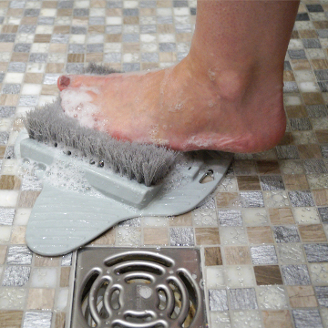 Foot Brush with Suction Cups